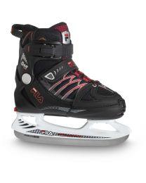 """Fila kinderskate """"X-One"""" in zwart en rood"""