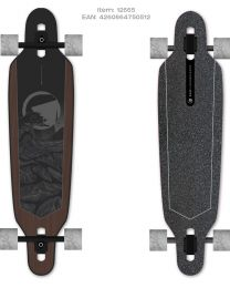 "Ram Longboard Solitary 38"" Dark Shadow"
