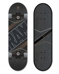 "Ram Skateboard 7.25"" Torque Onyx"