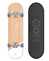 "Ram Skateboard 7.5"" Signo Blanc"
