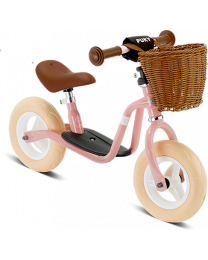 Puky Loopfiets Classic Retro in Roze