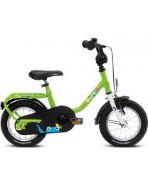 """Puky Kinderfiets 12"""" in Groen en Zwart"""
