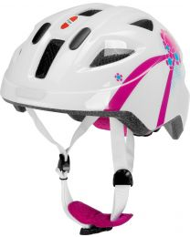 Puky Helm PH8 in Wit en roze - S