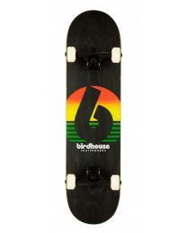 "Birdhouse Complete Skateboard Stage 3 Sunset Rasta 7,75"""