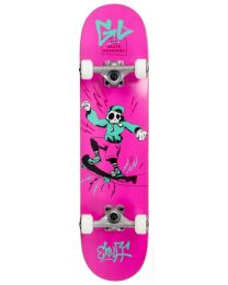 "ENUFF SKULLY 29.5"" COMPLETE SKATEBOARD IN ROZE"