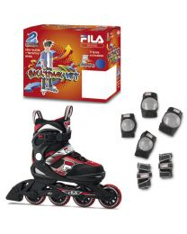 Fila J-one Combo set in Zwart en Rood