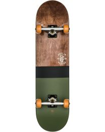 "Globe G2 Half Dip 8"" Complete Skateboard in Dark Maple en Hunter Green"