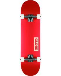 Globe Goodstock Complete Skateboard in Red