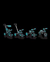 "Globber ""Trike Explorer"" 4 in 1 in het Turquoise"