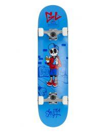 "Enuff Skully 29.5"" Complete Skateboard in Blauw"