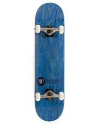 Enuff skateboard logo stain blauw