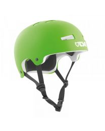 TSG Evolution helm in Flat limoen Groen