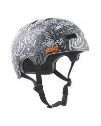 TSG Evolution Design Helm in Stickerbomb