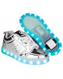 Heelys LED Premium 1 Lo in Chrome (2018 model)