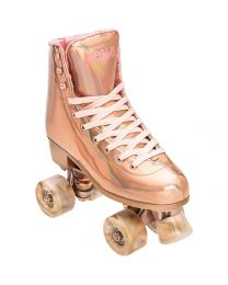 Impala Quad Roller Rolschaats X Marawa Collaboration in Rose Goud