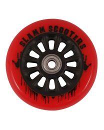Slamm Nycore 110mm Nylon Stuntstep Wiel in Rood met Zwarte Kern