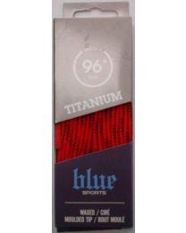 Blue Sports Wax Lace Orange