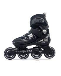 Fila J-one verstelbare kinderskate in het Zwart