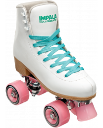 Impala Quad Roller Rolschaats  in Wit