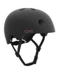 TSG Meta Helm Solid Black