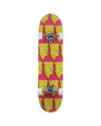 "Pizza Skateboard Complete 8"" Bart"