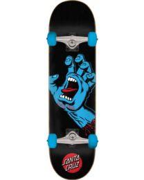 """Santa Cruz Skateboard Screaming Hand in Zwart en Blauw 8"""""""