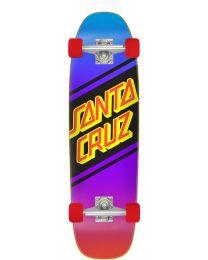 Santa Cruz Street Skate Cruiser in Paars en Rood