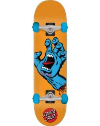 """Santa Cruz Complete Skateboard Screaming Hand 7,8"""" Oranje"""