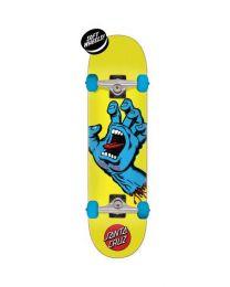 Santa Cruz Complete Skateboard Screaming Hand 7,75 Geel